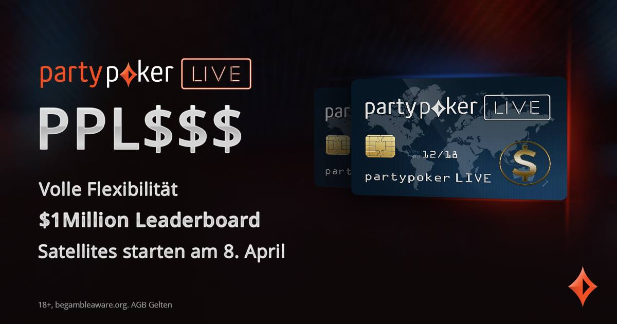 Partypoker live account - 976534