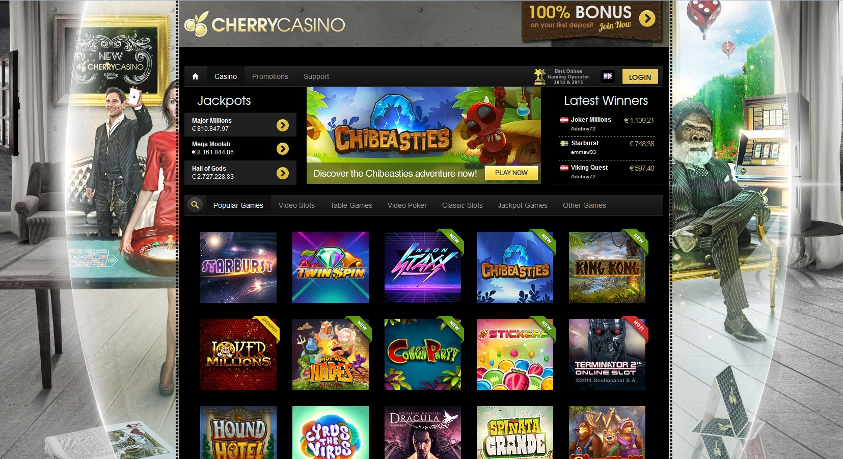 Cherry casino spins - 251339